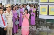 Exposition «Hoàng Sa, Truong Sa du Vietnam - les preuves historiques et juridiques» à Nghê An