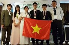 Le Vietnam brille aux Olympiades internationales de biologie 2017