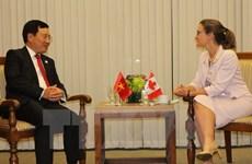 La Canada s'engage à aider le Vietnam à résoudre des défis liés aux changements climatiques