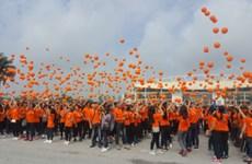 3.000 personnes marchent pour les victimes de l'agent orange