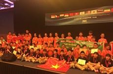 Les Vietnamiens brillent à l'IMC 2017