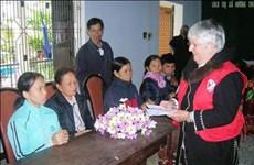 Une dame au grand cœur pour les victimes vietnamiennes de l'agent orange