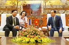 Promotion des relations de coopération Hanoï-Bangkok