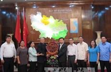Une délégation du Parti du peuple cambodgien à Bac Ninh