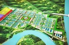 Construction d'une nouvelle zone industrielle à Tra Vinh