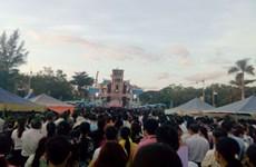 Le pèlerinage de La Vang 2017 à Quang Tri