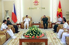 Renforcement des relations Vietnam-Philippines dans la défense