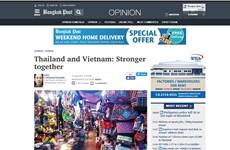La presse thaïlandaise apprécie les perspectives des relations Vietnam-Thaïlande