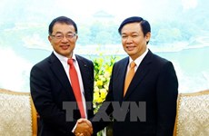 Le vice-PM Vuong Dinh Hue reçoit un responsable du groupe japonais Kirin