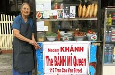 """Le """"banh mi"""" fait la renommée des Vietnamiens dans le monde"""