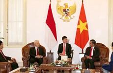 Entretien Nguyen Phu Trong – Joko Widodo