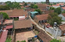 Des anciennes maisons de Duong Lâm