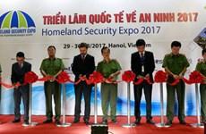 Ouverture de la 2e exposition internationale sur la sécurité à Hanoï