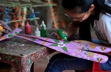 Les jouets en bambou de Thach Xa