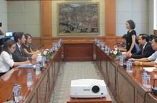 Hai Phong et la CCIFV s'engagent à coopérer dans la lutte contre les changements climatiques