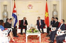 Consolider l'amitié spéciale Vietnam - Cuba