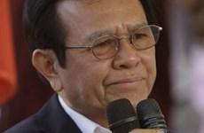 Cambodge : le président du CNRP accusé de trahison