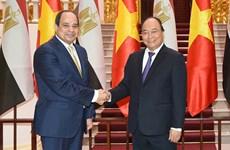 Le Vietnam estime les relations de coopération mutuellement avantageuses avec l'Egypte