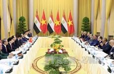 Communiqué de presse conjoint sur la visite d'Etat au Vietnam du président égyptien