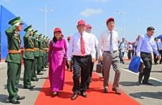 Inauguration d'un pont Vietnam-Chine