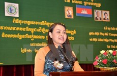 Développement de l'amitié Vietnam-Cambodge