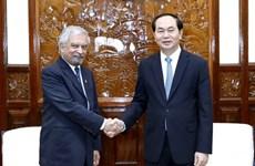 """Le président """"très optimiste"""" de l'avenir des relations Vietnam-ONU"""