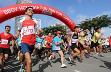Hô Chi Minh-Ville accueillera la 17e édition de la course Fun Run