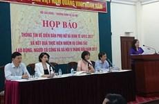 Le Forum sur les femmes et l'économie de l'APEC 2017 attendu à Hue