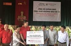 Central Group Vietnam soutient les populations touchées par le typhon Doksuri