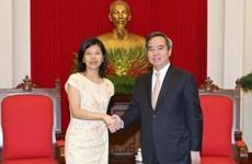 Développer la coopération économique entre le Vietnam, le Canada et la France