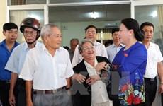 La présidente de l'Assemblée nationale rencontre l'électorat de Cân Tho