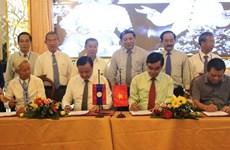 Promotion de l'investissement et du commerce via le poste frontière Lao Bao - Densavan