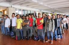 Rapatriement de 239 pêcheurs vietnamiens arrêtés en Indonésie