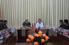 Une délégation militaire cambodgienne en visite à Hau Giang