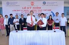 FAO et Vietnam signent un programme de coopération pour 2017-2021
