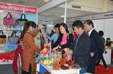 Ouverture de la foire Hanoi Gift Show 2017