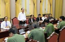 APEC: le chef de l'Etat demande d'assurer absolument la sécurité de la Semaine de haut rang