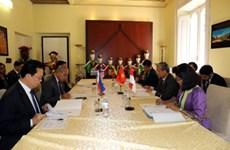 Célébration des 50 ans des relations ASEAN - UE à Rome