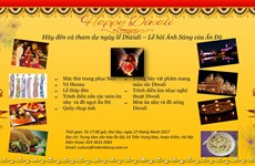 Bientôt la fête des lumières Diwali à Hanoi