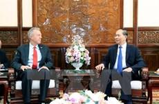 Le chef de l'Etat reçoit l'ambassadeur des Etats-Unis