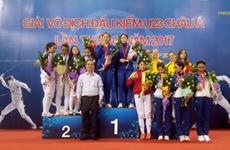 Championnats d'escrime d'Asie U23 : le Vietnam sur le podium