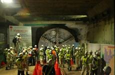 Hô Chi Minh-Ville : Le premier tunnel de métro du Vietnam s'achève plus tôt que prévu