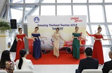 "Vietjet Thaïlande lance son nouvel avion portant le logo ​""The Amazing Thailand Tourism Year 2018​"""