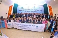 APEC 2017 : les jeunes ont un rôle important