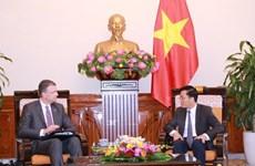 L'ambassadeur américain au Vietnam s'engage à œuvrer pour l'essor des relations bilatérales