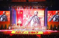 La Révolution d'Octobre russe célébrée dans tout le pays