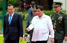 La Chine et les Philippines signent 14 conventions de coopération