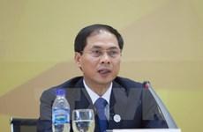 Publication des résultats de l'APEC aux organes de représentation étrangers à Hanoï