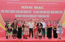 Ouverture de la Semaine «Solidarité des ethnies - Patrimoines culturels du Vietnam»