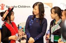 Renforcement du règlement des questions des enfants